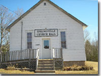 Springville Church Hall